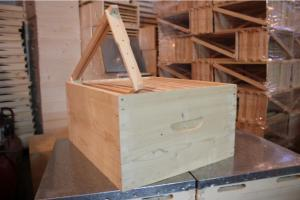Beehive floor with frames